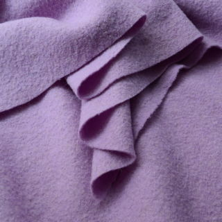 Photography of Pure Luxury - Boiled Wool - Lilac