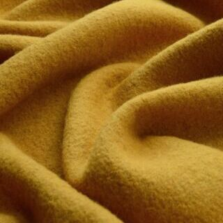 Photography of Set Piece- Pure Luxury - Boiled Wool - Mustard 1.25