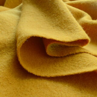 Photography of Pure Luxury - Boiled Wool - Mustard