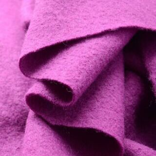 Photography of Pure Luxury - Boiled Wool - Fuchsia