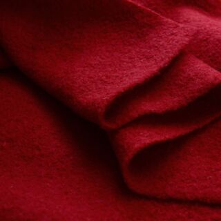 Photography of Pure Luxury - Boiled Wool - Red