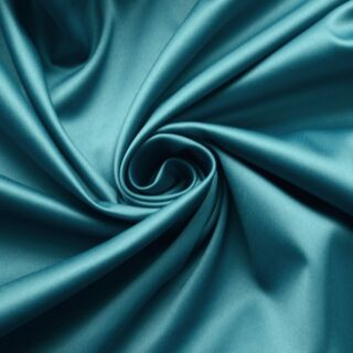 Photography of Stretch Duchess Satin- Teal Green