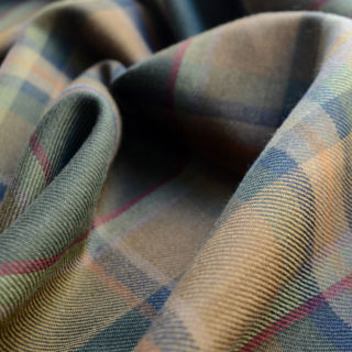 Photography of Tartan - Muted Loden
