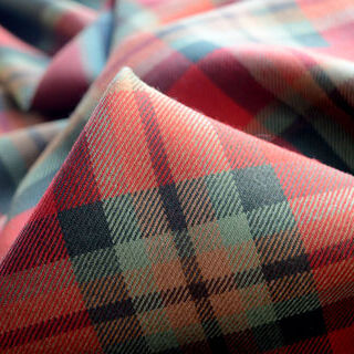 Photography of Tartan - Red/ Olive