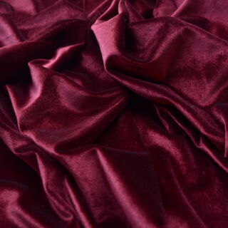 Photography of Panne Velvet- Mulberry