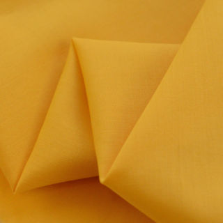 Photography of Superior Quality Plain Poly/Cotton - Mustard