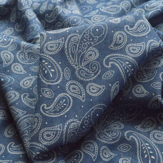 Photography of Denim - Heavenly - Paisley
